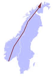 Planerad färdväg