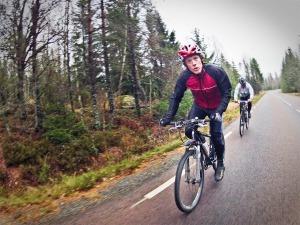 Cykla är fest. Foto:Eskil Laago