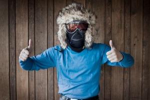 Välskyddat ansikte Foto:David Erixon