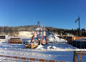 Ombyggnas av Riksskidstadion Lugnet inför Skid VM 2015