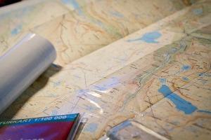 Halva kartan är härligt blank och nyplastad.Foto: David Erixon