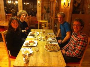 Middag på Losland Fjellstove