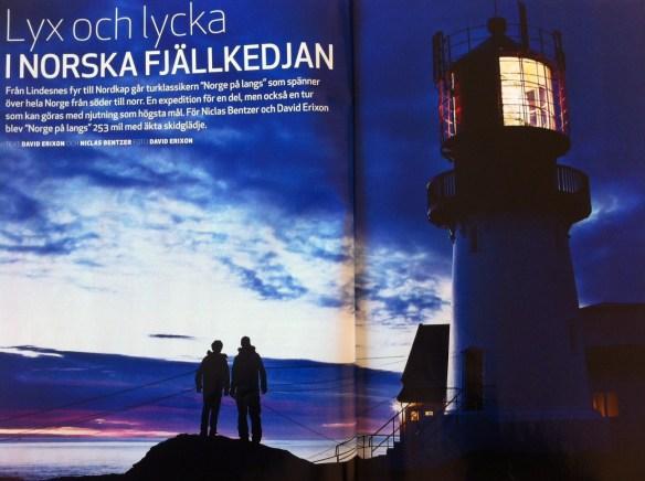 Artikel Utemagasinet  nummer 8 2013